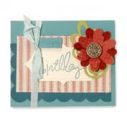 Happy Birthday Flower & Vine Card
