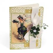 Green Shamrock Card