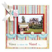 Home Is Where the Heart Is Scrapbook Page