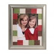 Embossed Winter Photo Mat