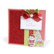 Winter Wishes & Santa Kisses Card