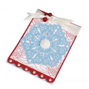 Embossed Snowflake Card