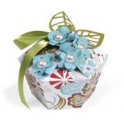 Flower & Leaf Embellished Gift Box