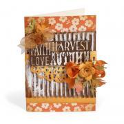 Faith - Harvest - Love - Autumn Card