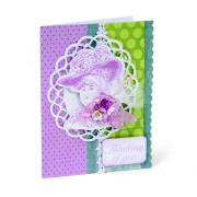 Thinking of You Lady with Hat Card