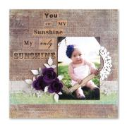You Are My Sunshine Scrapbook Page #2