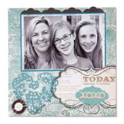 Today, Tomorrow & Forever Scrapbook Page