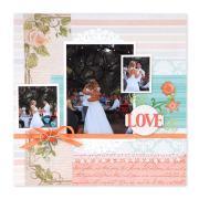 Love Scrapbook Page #3