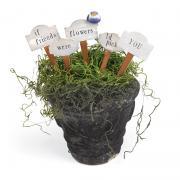 If Friends Were Flowers Planter