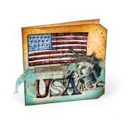 USA Jumbo Tag Card