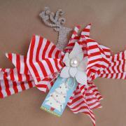 Glittered Reindeer Gift Topper