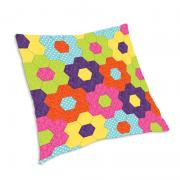 English Garden Hexagon Pillow
