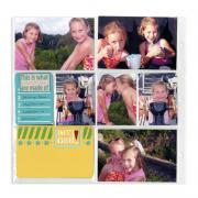 My Girls Pocket Page