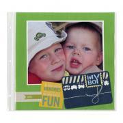 My Boy Scrapbook Page