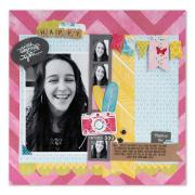 Capture the Fun Scrapbook Page