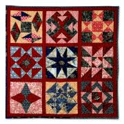 Rue Indienne Sampler Wall Hanging