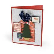 Christmas Tree Tag Card
