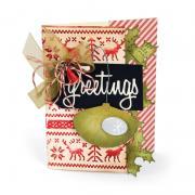 Greetings Ornament Card