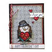 Happy Valentine's Day Bird Card