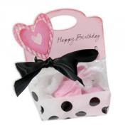 Happy Birthday Heart Treat Bag Topper