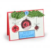 Hanging Ornaments Card