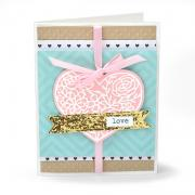 Decorative Heart Card
