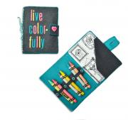 Live Colorfully Traveler's Notebook