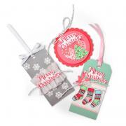 Classic Christmas Stocking Gift Tag