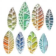 Sizzix Thinlits Die Set 8PK - Cut Out Leaves