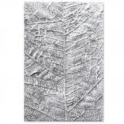 Sizzix 3-D Textured Impressions Embossing Folder - Leaf Veins