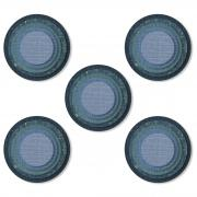 Sizzix Thinlits Die Set 25PK - Stacked Tiles, Circles by Tim Holtz