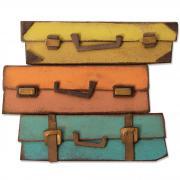 Sizzix Bigz Die - Baggage Claim by Tim Holtz