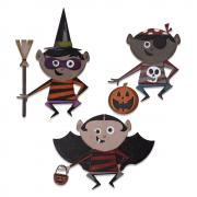 Sizzix Thinlits Die Set 18PK - Trick or Treater by Tim Holtz