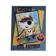Trick or Treater Card