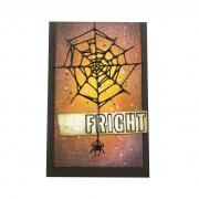 Frightful Spider Web Card