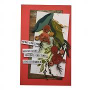 Holiday Brushstroke Card