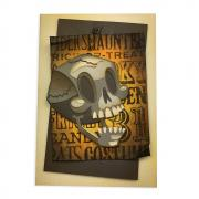 Skelly Halloween Card