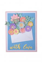 How to make a Flowers with Envelope Card