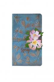 Brushstroke Flowers Notepad