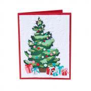 How to make a Layered Christmas Tree Card