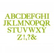 Sizzix Bigz Alphabet Set 7 Dies - Serif Essentials