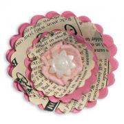 Sizzix Bigz Die - Flower, 3-D Wrapped