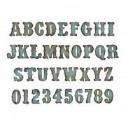Sizzix Bigz XL Alphabet Die - Vintage Market by Tim Holtz