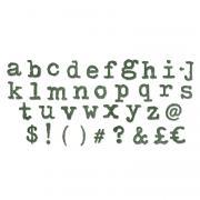Sizzix Bigz XL Alphabet Die - Typo Lower