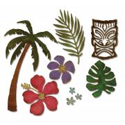 Sizzix Thinlits Die Set 8PK - Tropical by Tim Holtz