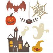 Sizzix Thinlits Die Set 7PK - Spooky Halloween