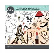 Sizzix Coloring Book - Hipster Doodles