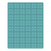 Sizzix Texture Fades Embossing Folder - Stitched Plaid by Tim Holtz