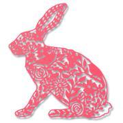 Sizzix Thinlits Die - Wild Rabbit