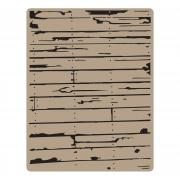 Sizzix Texture Fades Embossing Folder - Wood Planks by Tim Holtz